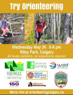 May 24th Try Orienteering event