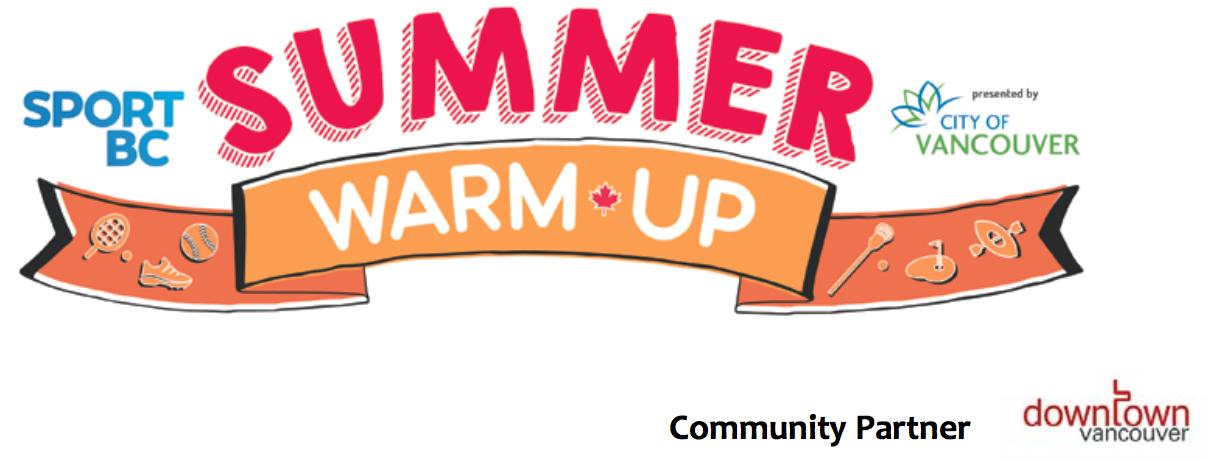 SportBC Summer Warm-up!